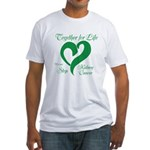 Stop Kidney Cancer Fitted T-Shirt