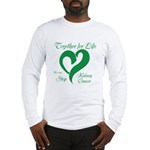 Stop Kidney Cancer Long Sleeve T-Shirt