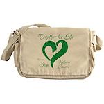 Stop Kidney Cancer Messenger Bag