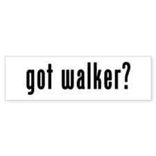 GOT WALKER Bumper Sticker