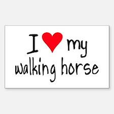 I LOVE MY Walking Horse Decal