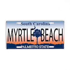 Home Aluminum License Plate