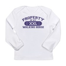 Walking Horse PROPERTY Long Sleeve Infant T-Shirt