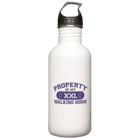 Walking Horse PROPERTY Stainless Water Bottle 1.0L