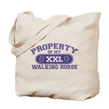 Walking Horse PROPERTY Tote Bag