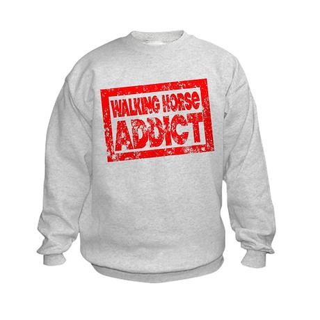 Walking Horse ADDICT Kids Sweatshirt