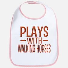 PLAYS Walking Horses Bib