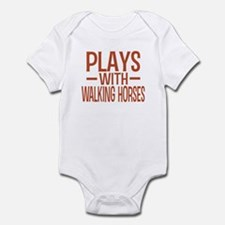 PLAYS Walking Horses Infant Bodysuit
