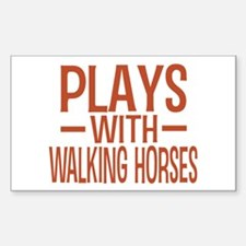 PLAYS Walking Horses Decal