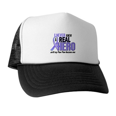 Never Knew a Hero Esophageal Cancer Trucker Hat