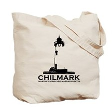 "Chilmark MA ""Lighthouse"" Design. Tote Ba"