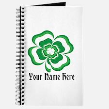 Customizable Stacked Shamrock Journal