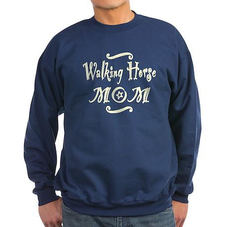 Walking Horse MOM Sweatshirt (dark)