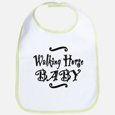 Walking Horse BABY Bib
