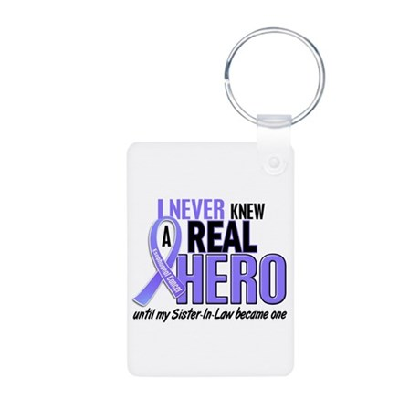 Never Knew a Hero Esophageal Cancer Aluminum Photo