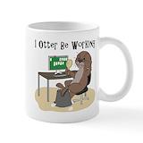 Otter Small Mugs (11 oz)