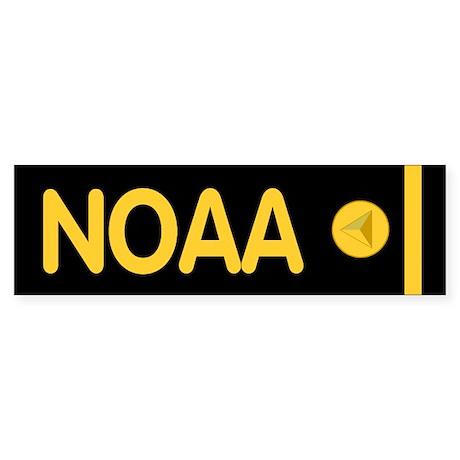 NOAA Ensign<BR> Bumpersticker 2
