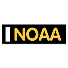 NOAA Ensign<BR> Bumpersticker 1