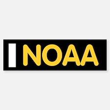 NOAA Ensign<BR> Bumpersticker 1