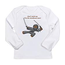 NinjaBread Man Long Sleeve Infant T-Shirt