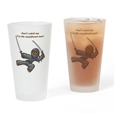NinjaBread Man Drinking Glass
