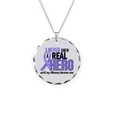 Never Knew a Hero Esophageal Cancer Necklace