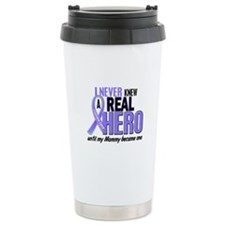 Never Knew a Hero Esophageal Cancer Travel Mug