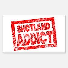 Shetland ADDICT Decal
