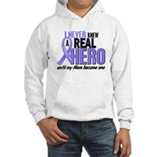 Never Knew a Hero Esophageal Cancer Hoodie