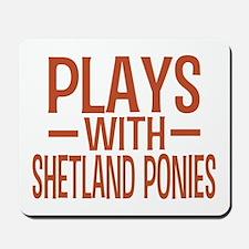 PLAYS Shetland Ponies Mousepad