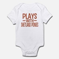 PLAYS Shetland Ponies Infant Bodysuit