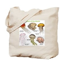 Jellyfish of the World Tote Bag