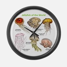 Jellyfish of the World Large Wall Clock