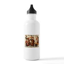 Christmas Dachshund (Ver2) Water Bottle