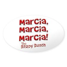Marcia Brady Bunch Decal