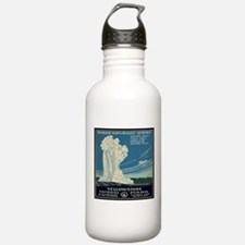 I'd Rather Be In Yellowstone Water Bottle