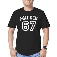 Made in 67 Men's Fitted T-Shirt (dark)