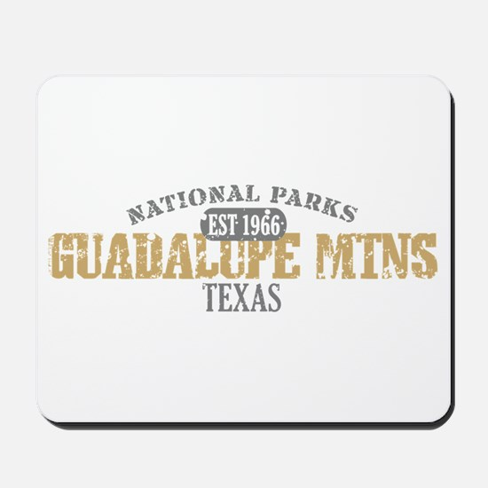 Guadalupe Mtns National Park Mousepad