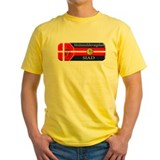 Holger danske Mens Yellow T-shirts