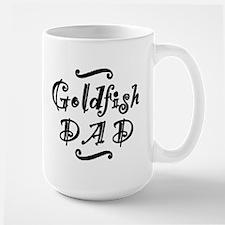 Goldfish DAD Large Mug