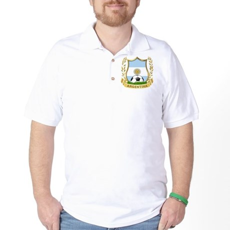Argentina Soccer Golf Shirt