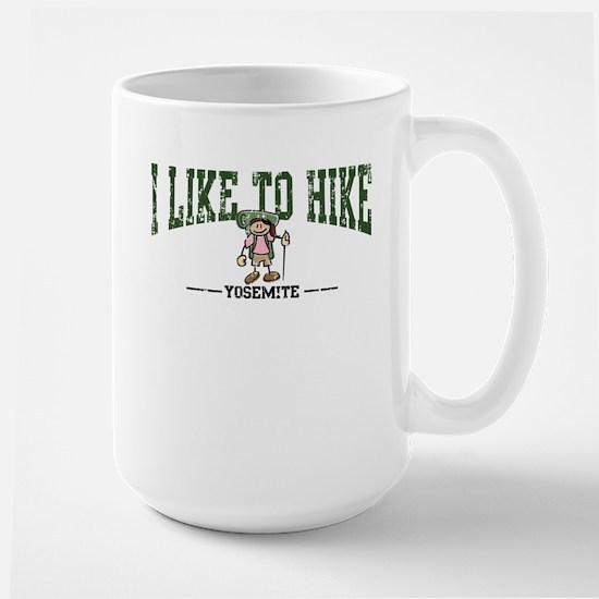 Yosemite - Girl Athletic Style Large Mug