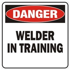 Welder Wall Art Poster