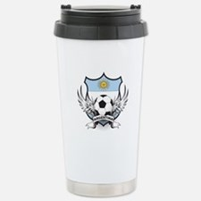 Argentina Soccer Stainless Steel Travel Mug