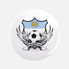 """Argentina Soccer 3.5"""" Button (100 pack)"""