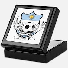 Argentina Soccer Keepsake Box