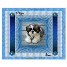 Puppy Love Wall Art Framed Print