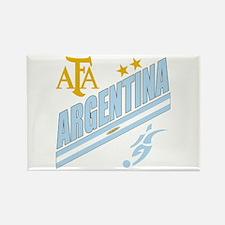 Argentina Soccer Rectangle Magnet