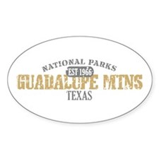 Guadalupe Mtns National Park Decal