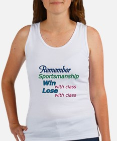 Sportsmanship Women's Tank Top